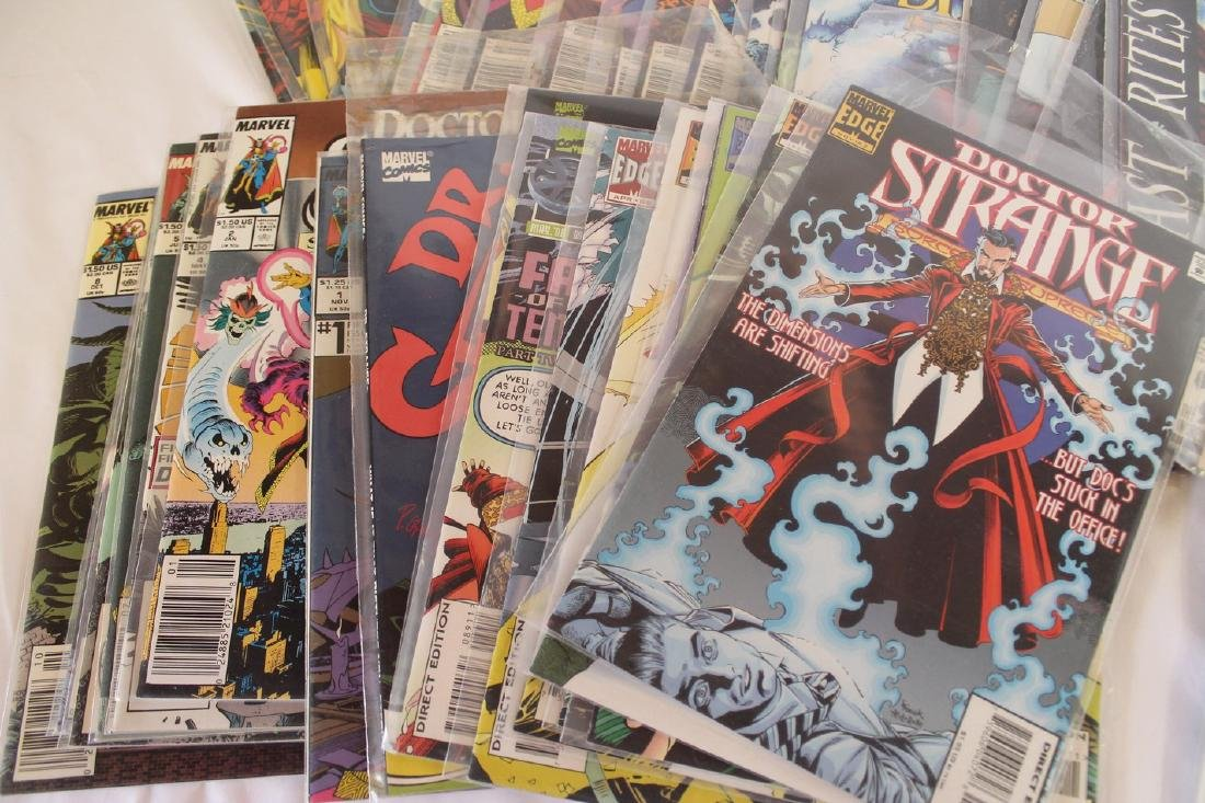 Dr. Strange comic book lot - 3