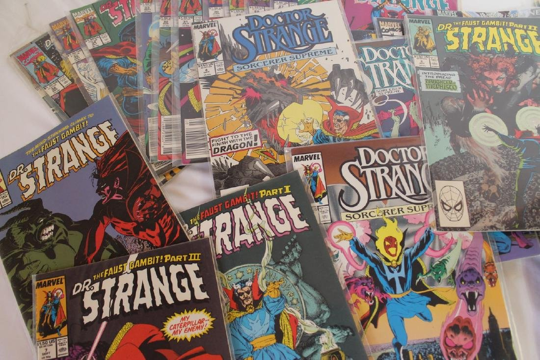 Dr. Strange comic book lot - 5