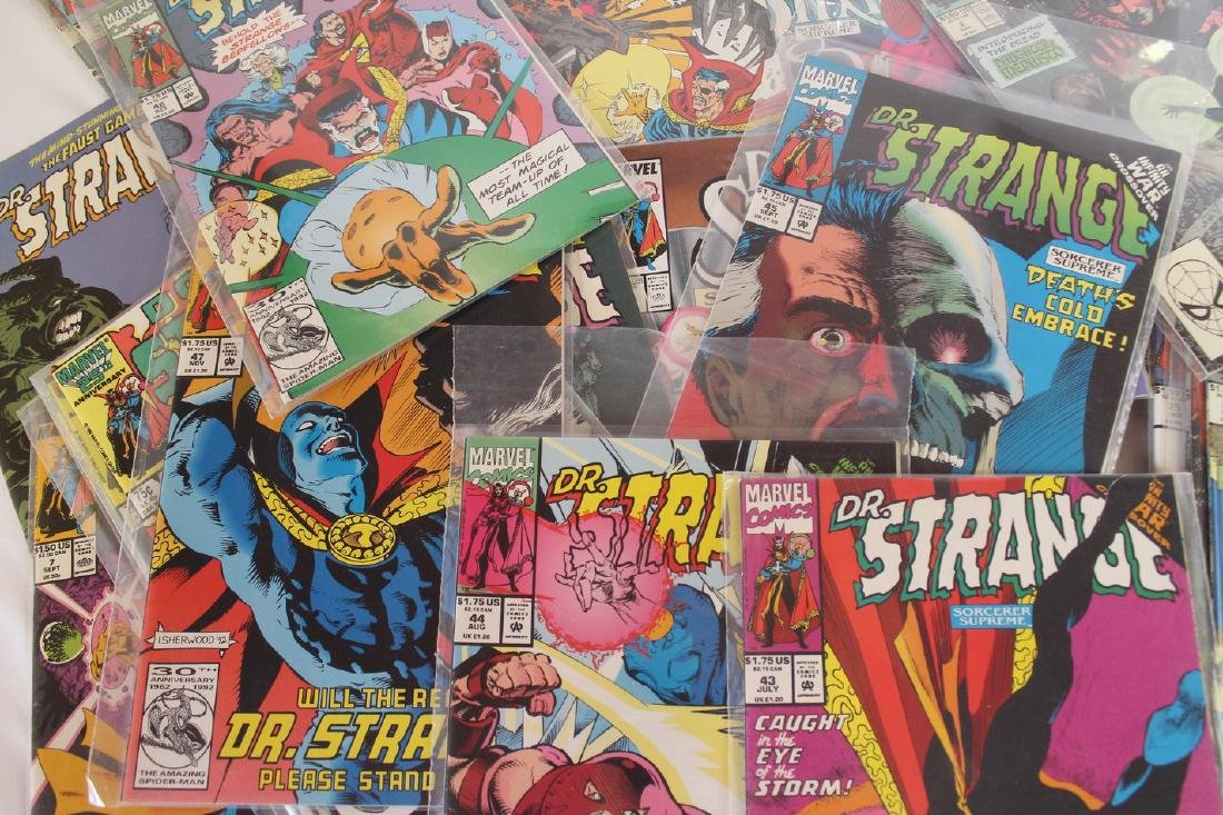 Dr. Strange comic book lot - 6