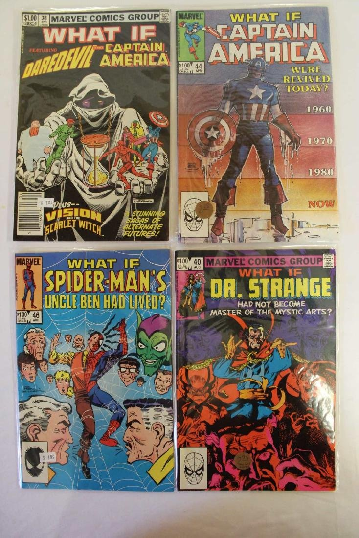 What If? comic book lot