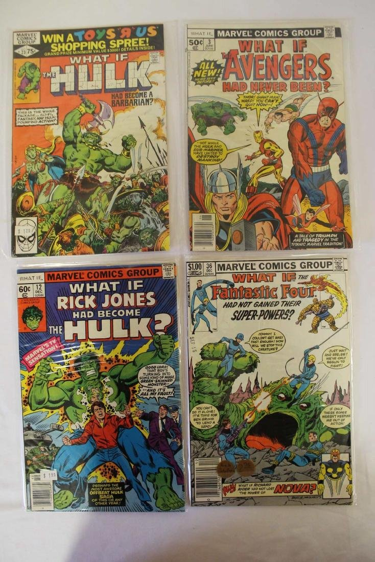 What If? comic book lot - 2