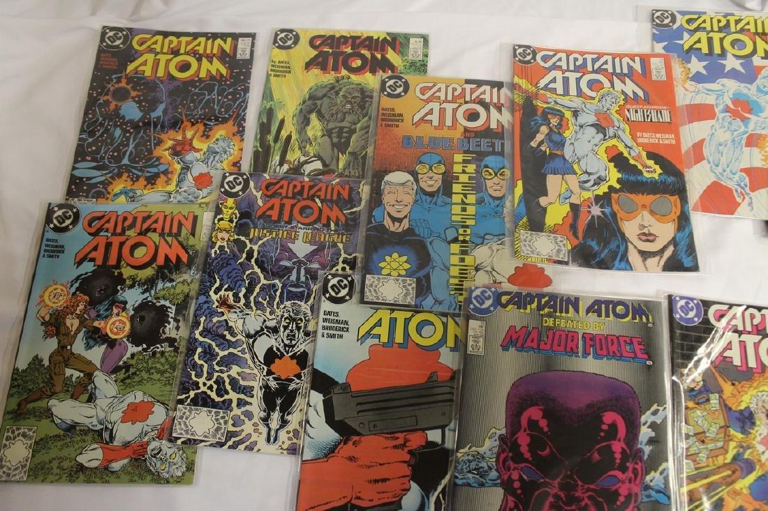 Captain Atom comic book lot - 10