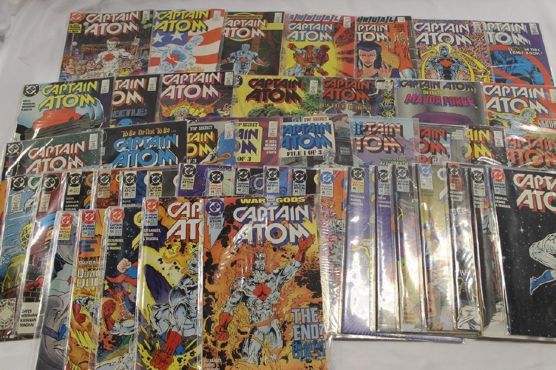 Captain Atom comic book lot