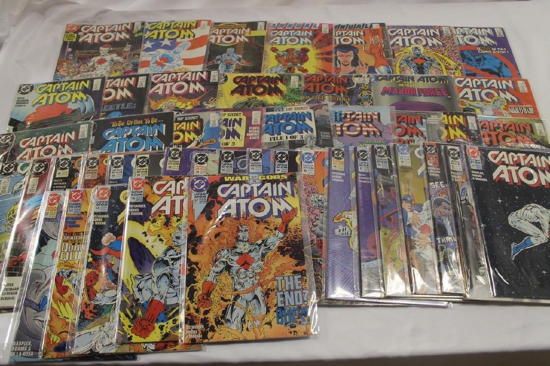 Captain Atom comic book lot - 2