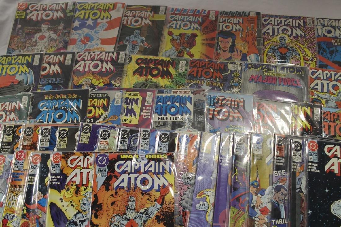 Captain Atom comic book lot - 3
