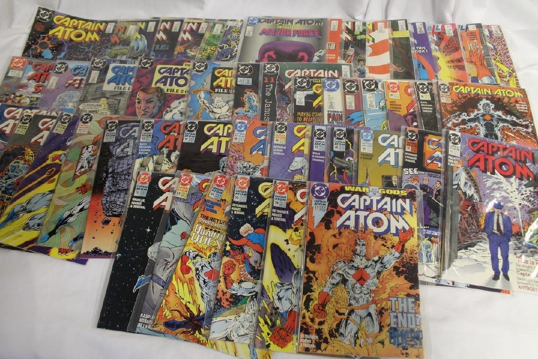 Captain Atom comic book lot - 4
