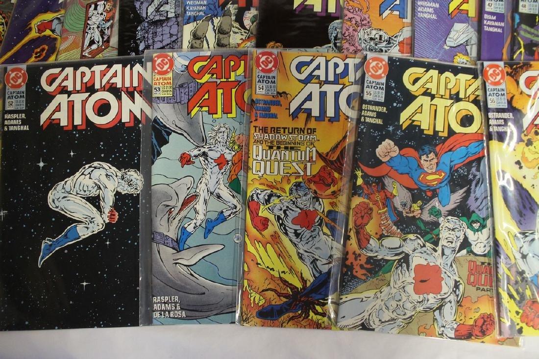 Captain Atom comic book lot - 5