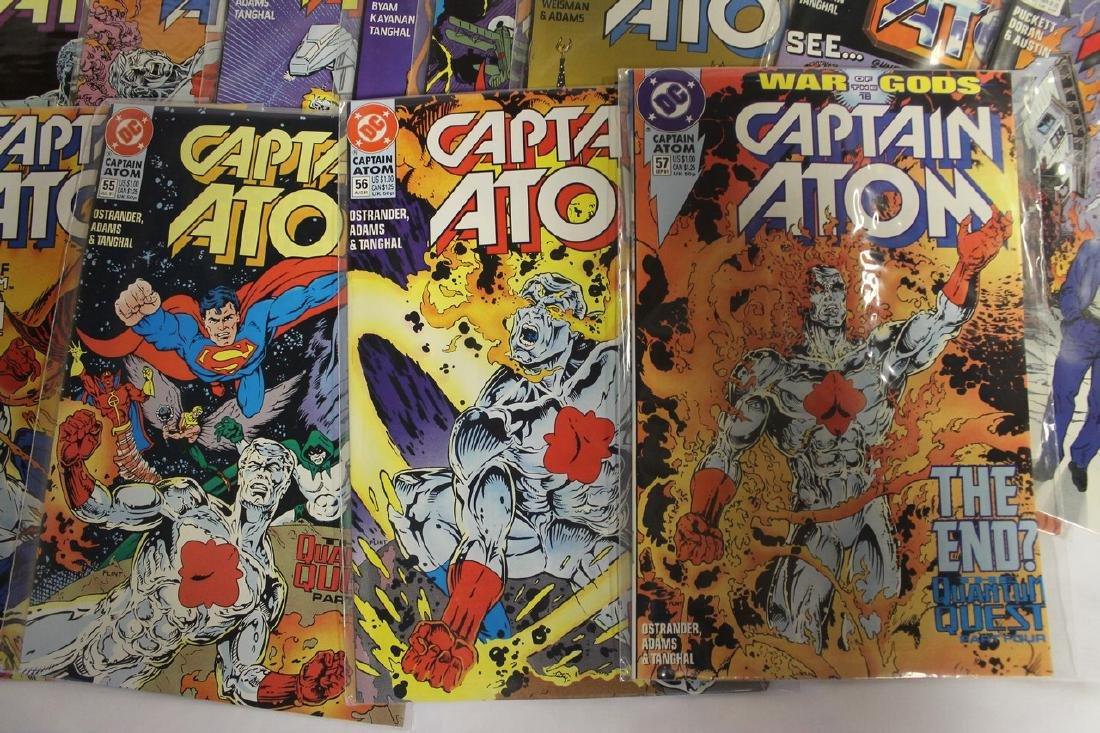 Captain Atom comic book lot - 6