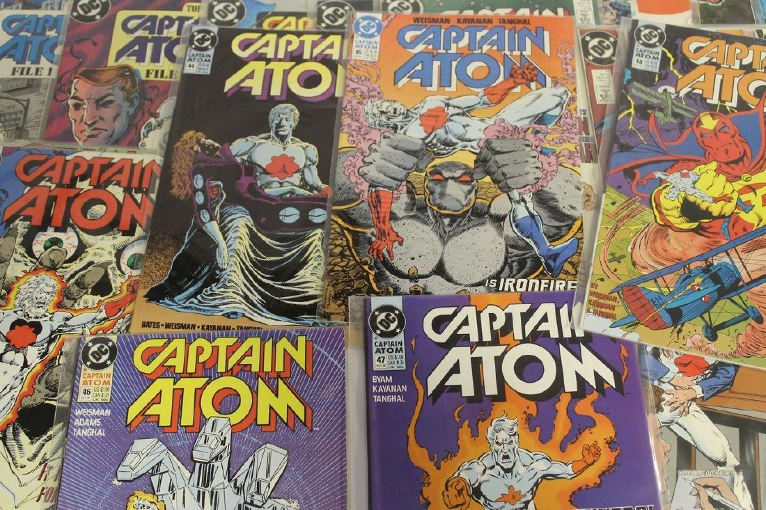 Captain Atom comic book lot - 7