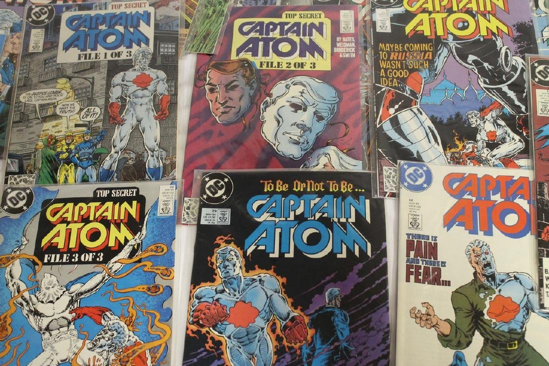 Captain Atom comic book lot - 8