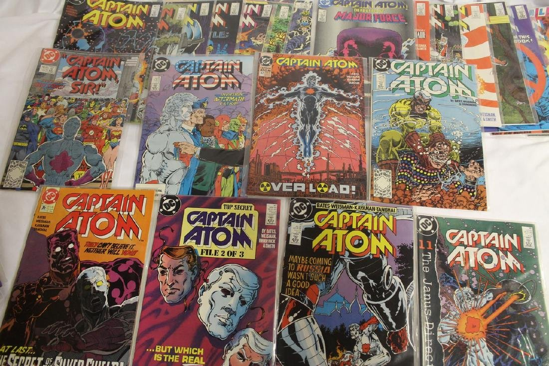 Captain Atom comic book lot - 9