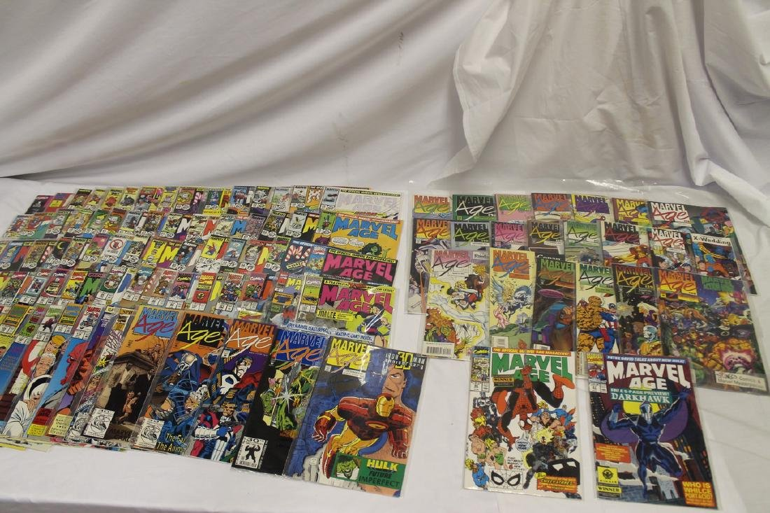 Marvel age comic book lot