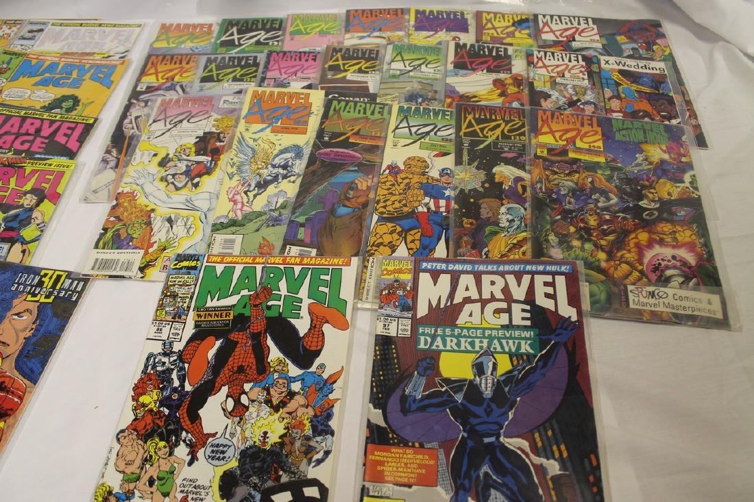 Marvel age comic book lot - 2