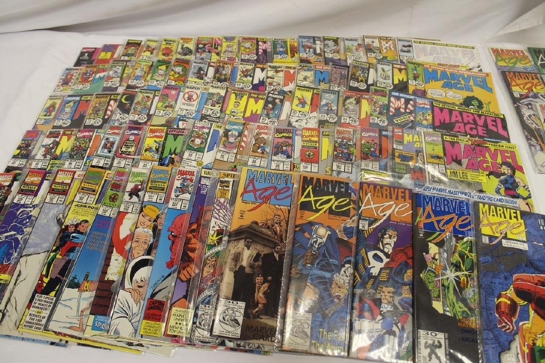 Marvel age comic book lot - 3