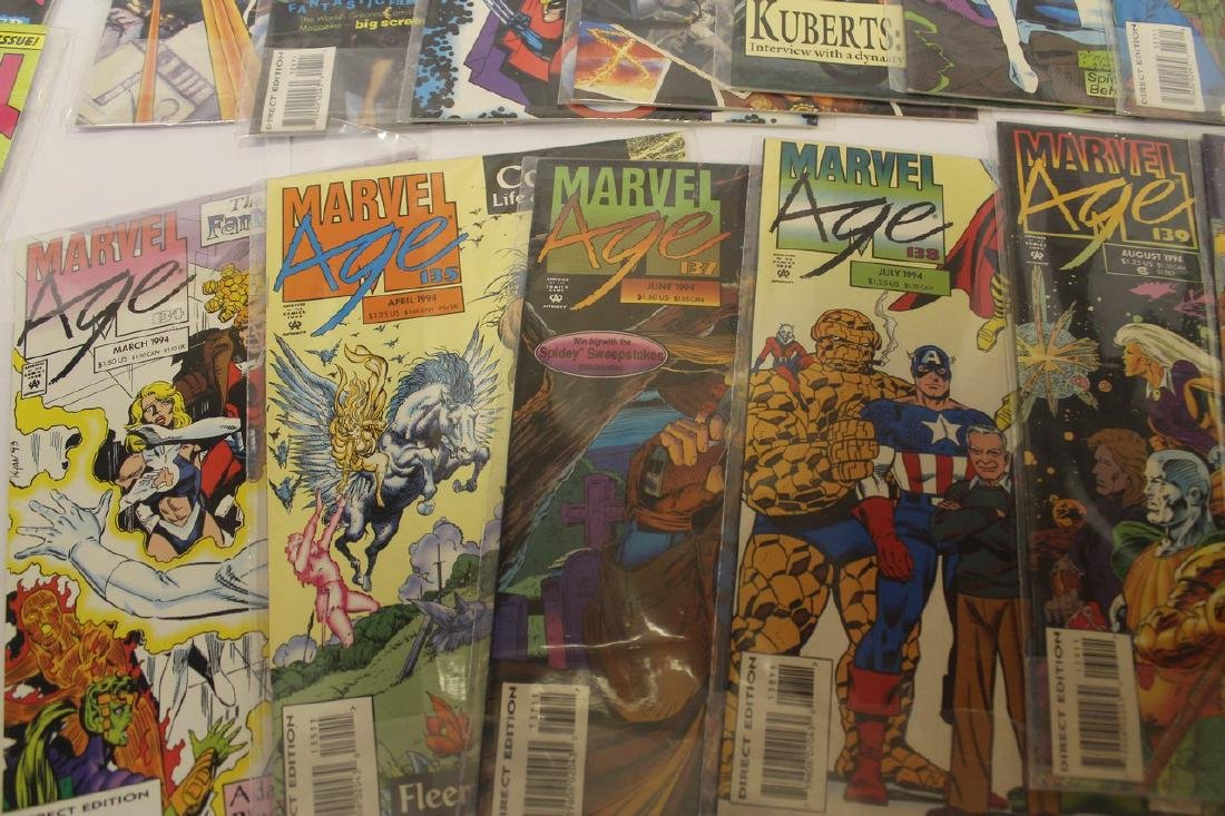Marvel age comic book lot - 4