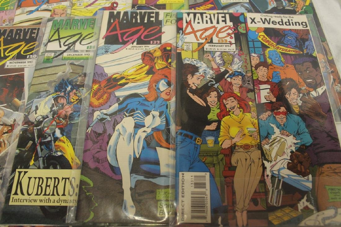 Marvel age comic book lot - 5