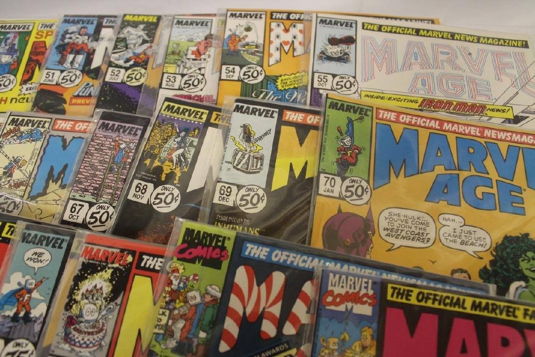Marvel age comic book lot - 6