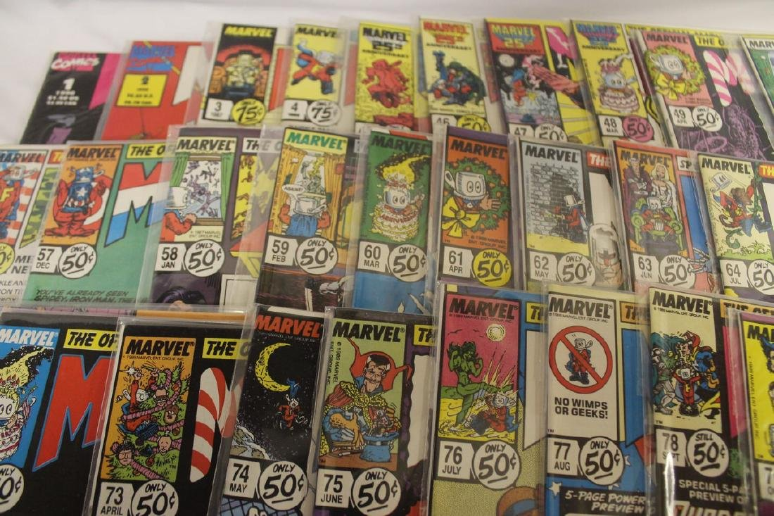 Marvel age comic book lot - 7