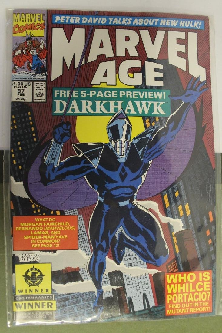 Marvel age comic book lot - 8