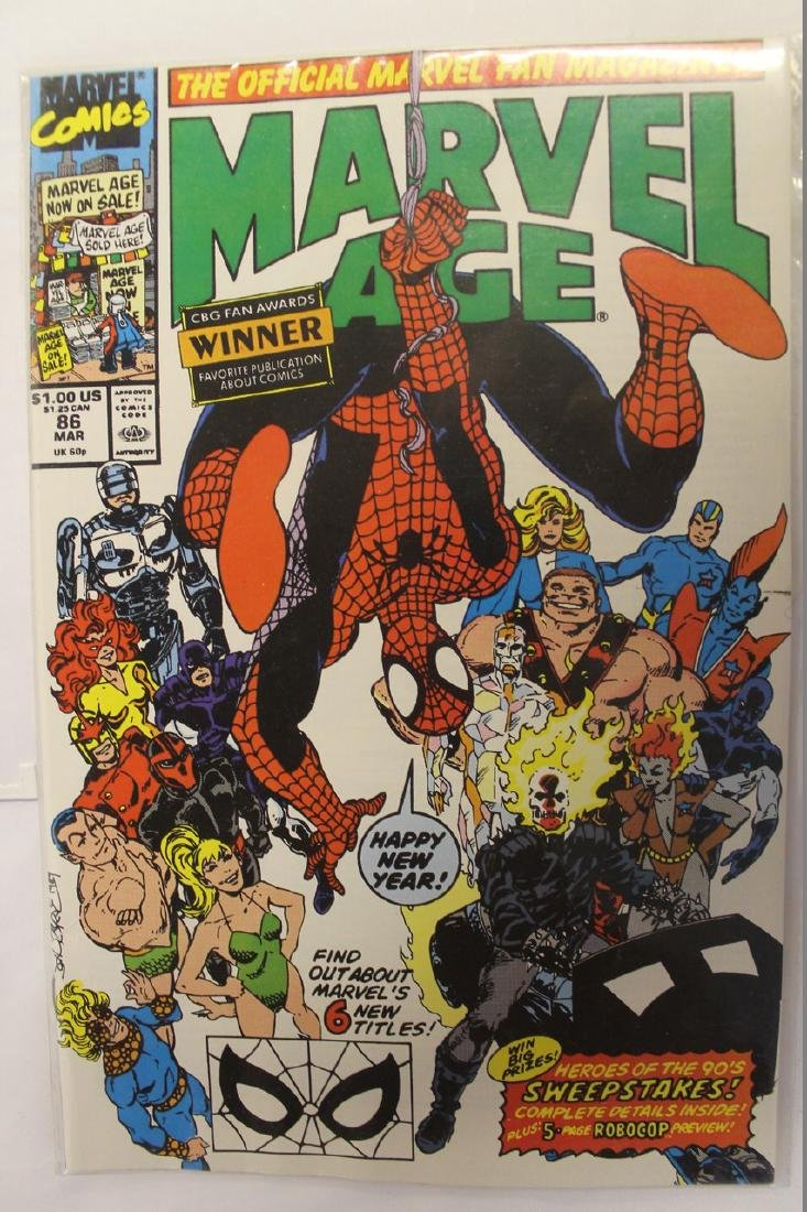 Marvel age comic book lot - 9
