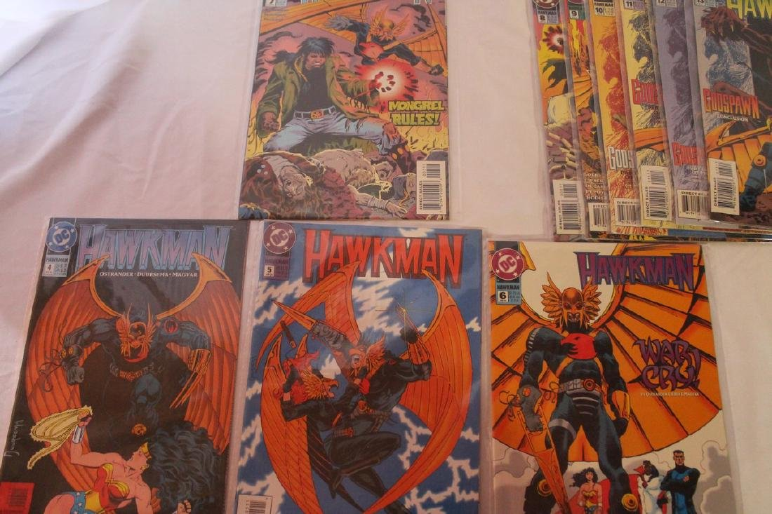 Hawkman comic book lot - 10