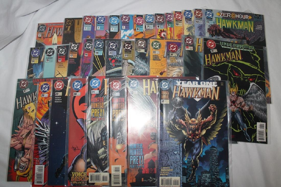 Hawkman comic book lot - 2