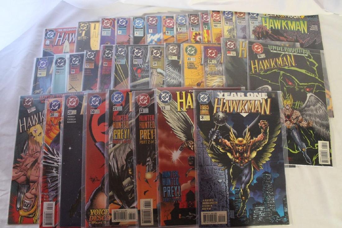 Hawkman comic book lot - 3
