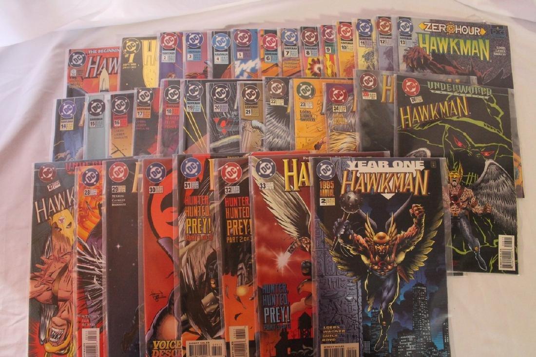 Hawkman comic book lot - 4