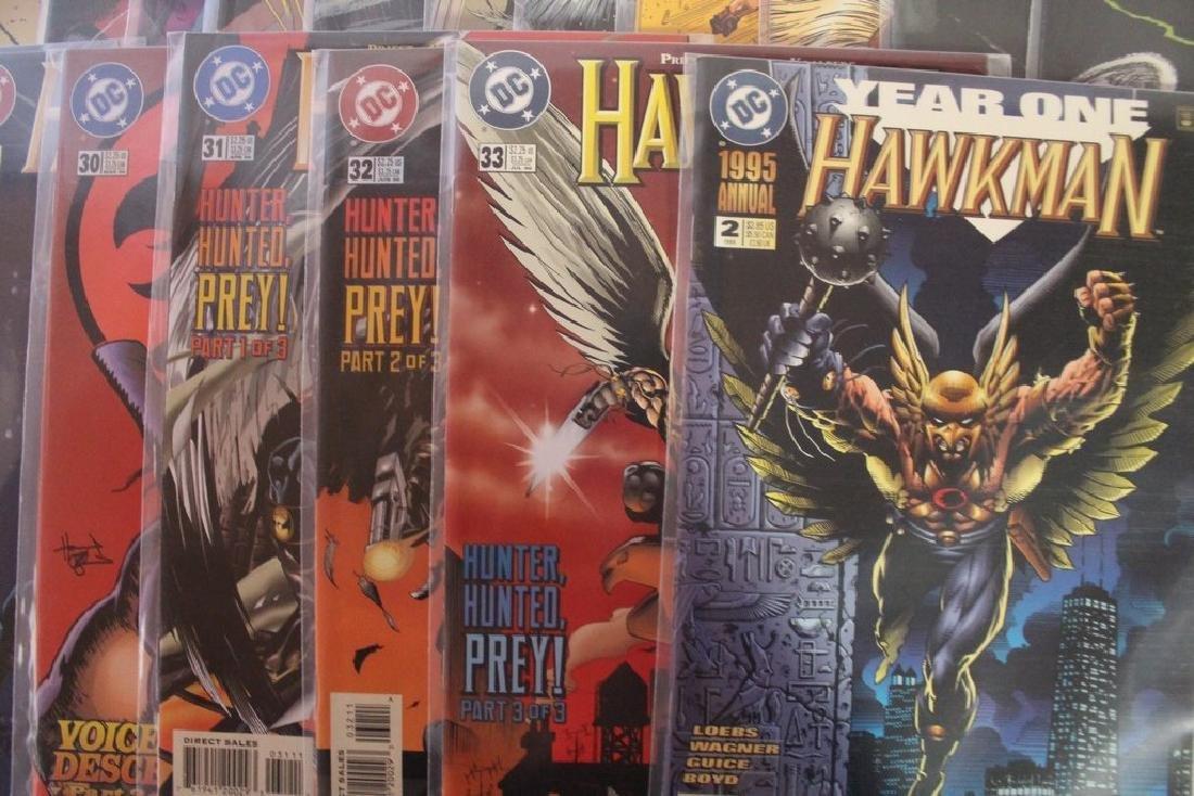 Hawkman comic book lot - 5