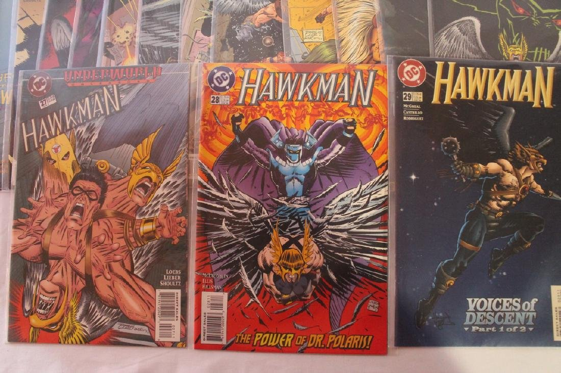 Hawkman comic book lot - 6