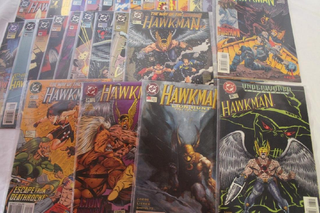 Hawkman comic book lot - 7