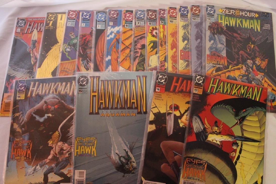 Hawkman comic book lot - 8