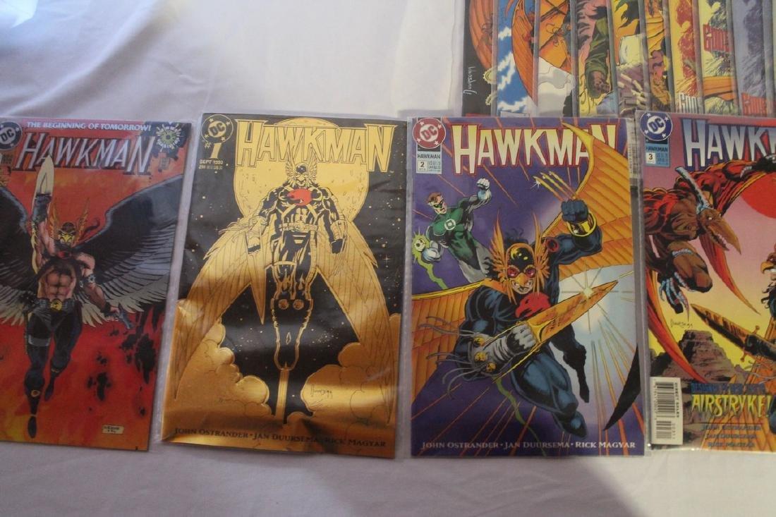 Hawkman comic book lot - 9