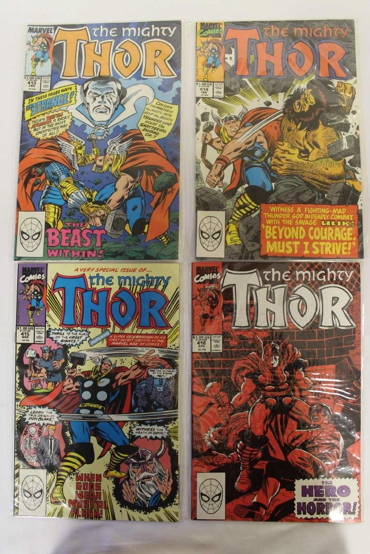Thor (The Mighty) volume one comic lot - 2