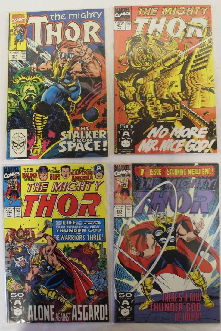 Thor (The Mighty) volume one comic lot - 4