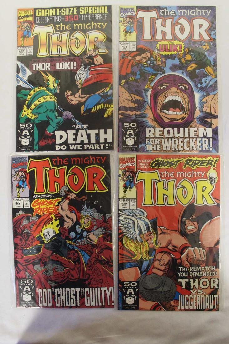 Thor (The Mighty) volume one comic lot - 5