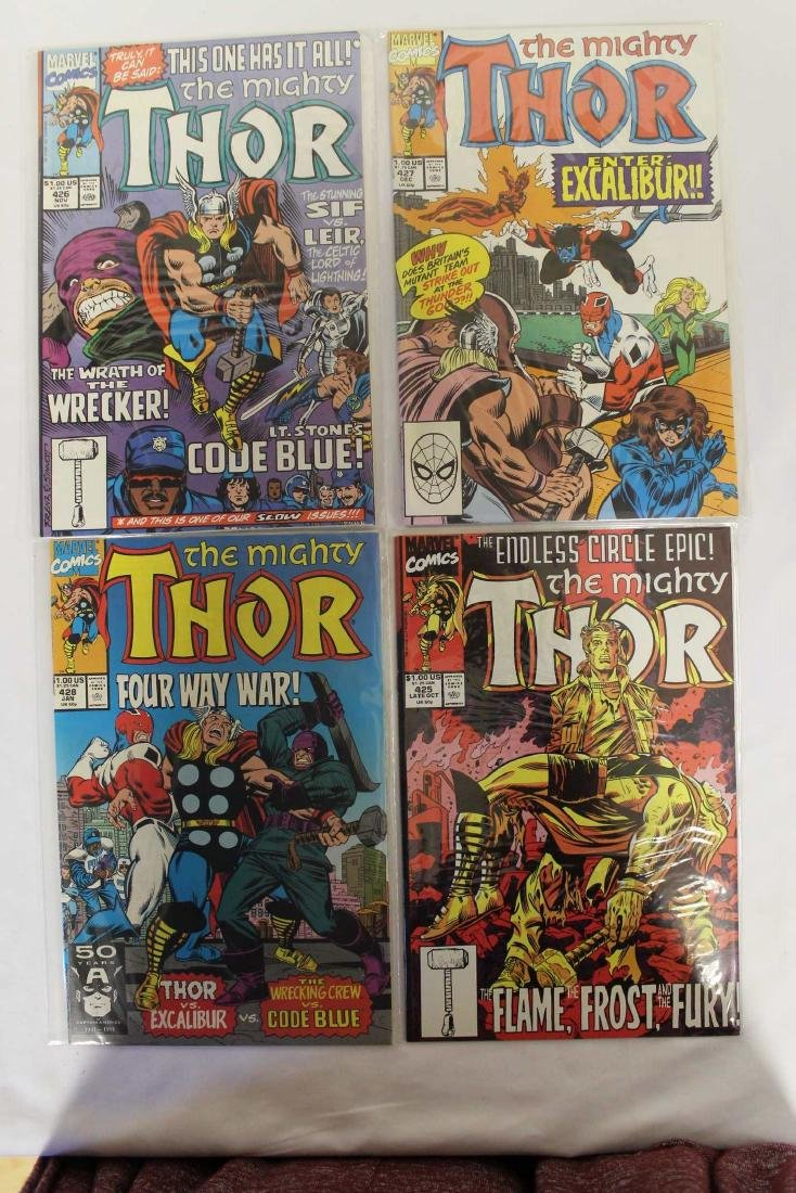 Thor (The Mighty) volume one comic lot - 6