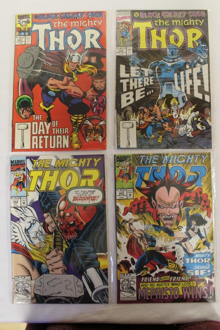 Thor (The Mighty) volume one comic lot - 7