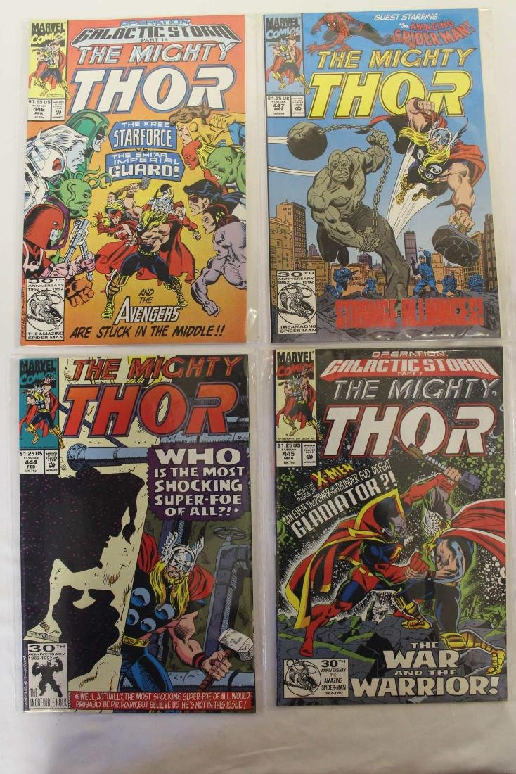 Thor (The Mighty) volume one comic lot - 9
