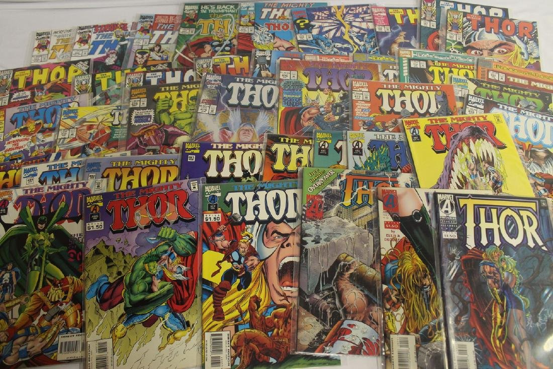 Thor (The Mighty) volume one comic lot