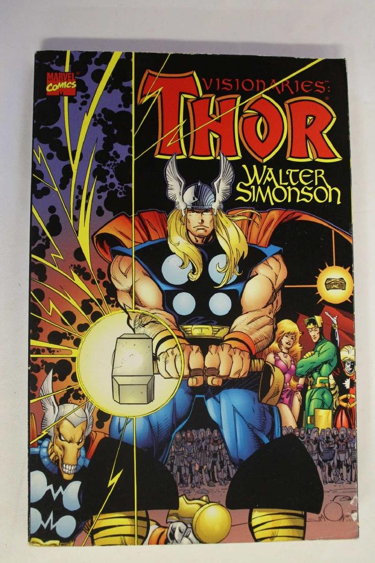Thor trade paper backs and a hard cover - 2