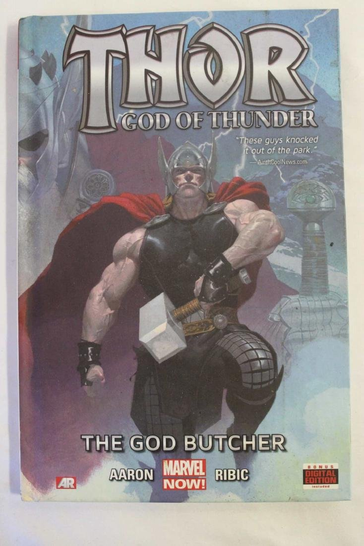 Thor trade paper backs and a hard cover - 4