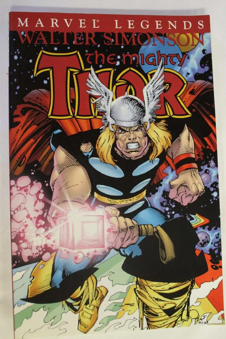 Thor trade paper backs and a hard cover - 5
