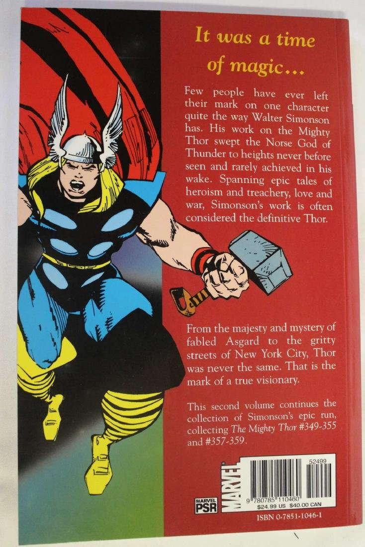 Thor trade paper backs and a hard cover - 6