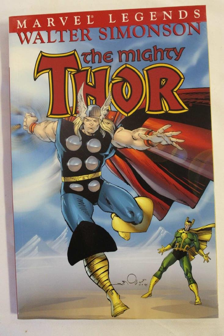 Thor trade paper backs and a hard cover - 7