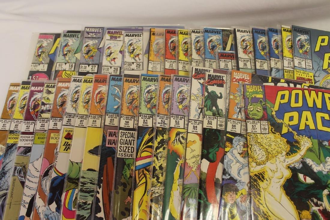 Power Pack volume 1 comic book lot