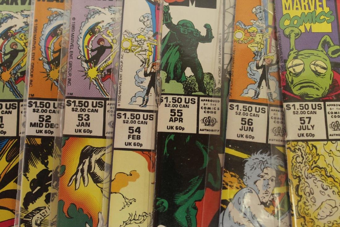 Power Pack volume 1 comic book lot - 3