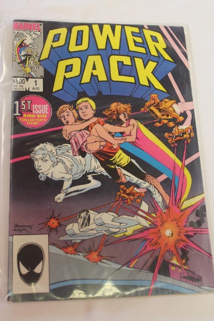 Power Pack volume 1 comic book lot - 6
