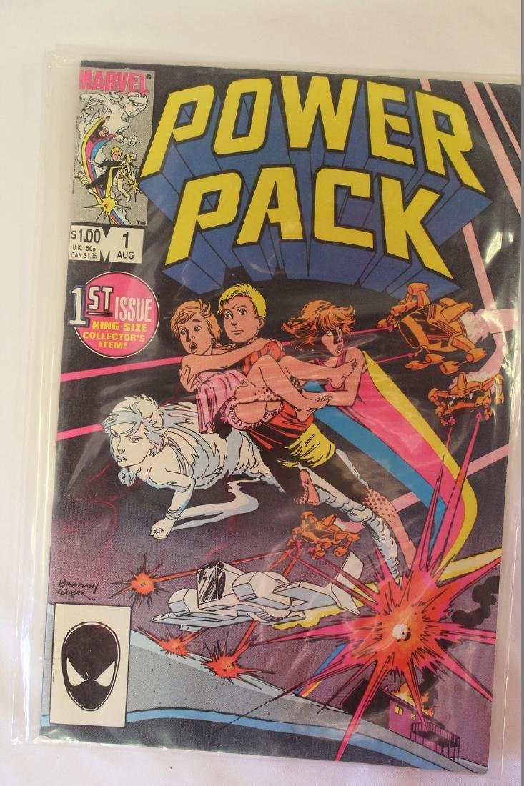 Power Pack volume 1 comic book lot - 7