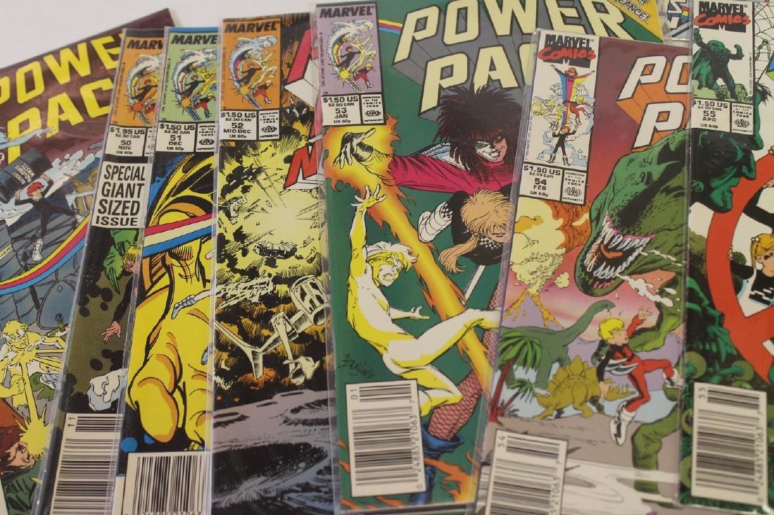 Power Pack volume 1 comic book lot - 8